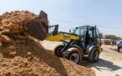 Construction machines for booming business in South Africa