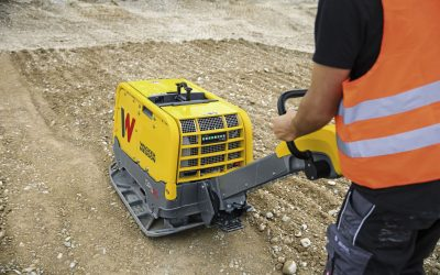 Proper compaction – vibratory plates with compaction control