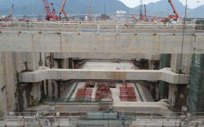 Megaprojekt in Hong Kong: Beratung in Betontechnik durch Wacker Neuson concrete solutions