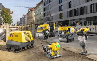 Soil compaction in Munich: from vibratory rammer to roller, everything in application