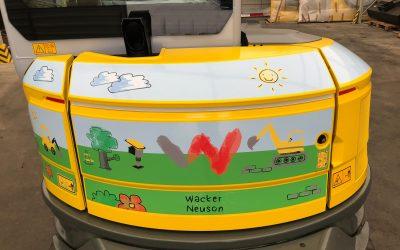 "Wacker Neuson Charity-Bagger ""Coco"""